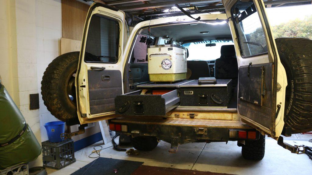4x4 rear drawers