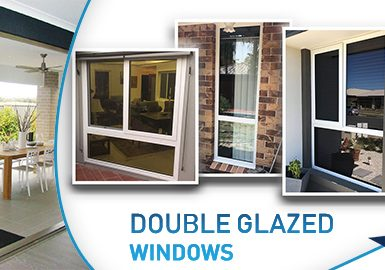 installation of double glazed windows